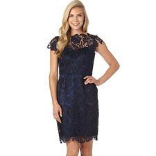 NEW  DECODE 1.8 Scalloped Lace Dress Size 12