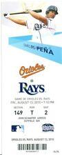 2010 Rays vs Orioles Ticket: Luke Scott HR/Jeremy Guthrie win