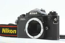 【NEAR MINT】 Nikon FM3A Black SLR 35mm Film Camera Body w/ Strap from JAPAN #383