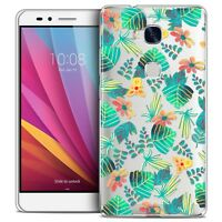 Coque Crystal Honor 5X Extra Fine Rigide Spring Tropical