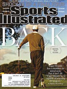 Tiger Woods--Golf--2013 Sports Illustrated Magazine