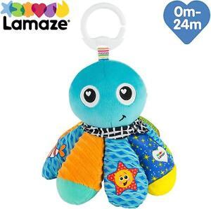 Lamaze Salty Sam The Octopus Baby Stroller Sensory Activity Clip On Soft Toy