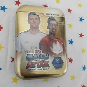 Topps Match Attax - Sealed Collector Tin, 19/20 - 45 Cards inc a Limited Edition