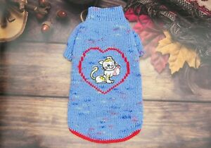 Sphynx clothes Cat sweater Knitted sweater for a cat