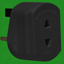 Shaver Travel Adaptor Plug For 2 Round Pin to 3 Flat Pin UK Plug 1A Socket