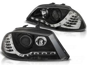 LED HEADLIGHTS LPSE28 SEAT IBIZA MK IV 6L 2002 2003 2004 2005 2006 2007 2008