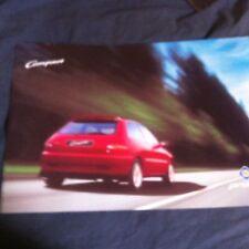1998 Proton Compact 1.3 and 1.6 UK Market Color Brochure Catalog Prospekt
