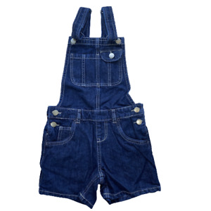 Girls Denim Dungarees Shorts Jean Playsuit Age 8 to 15 Years