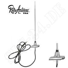 RetroAntenna antena para el 1965-85 Ford, telescopio, poligonal pie a 6585 fordre-C