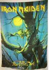 """IRON MAIDEN Fear of the Dark 29""""X43"""" Cloth Fabric Poster Flag-New! Wall Banner"""