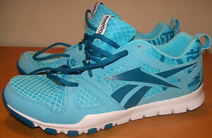 REEBOK  sz 7.5 WOMENS RUNNING SNEAKERS - LIGHT WEIGHT - TUQUOISE - NWOB SHO-11