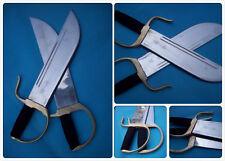 Wing Chun Bart Cham Dao Stainless steel hand-made Blade Brass Gauntlets sword