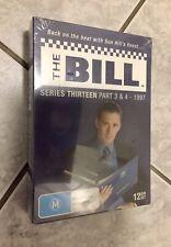 New Sealed DVD Box Set * THE BILL Season 13 Parts 3 & 4 SERIES THIRT 3-4 1997