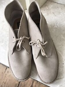 Clarks Originals Womens Desert Suede Leather Ankle Boots Size 7