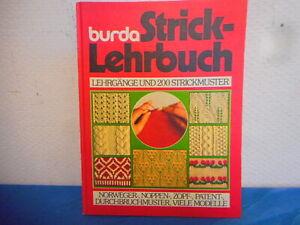 Burda Strick - Lehrbuch - Handarbeit - Lehrgänge und 200 Strickmuster