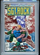 Sgt Rock #412 CGC 9.8 White Pages Mlle Marie Cover