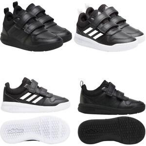 Adidas Kids Boys Trainers School Shoes Tensaur Casual Sneakers Strap Black