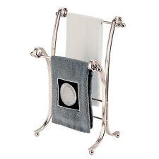 Bath Fingertip Hand Towel Stand Rack Bathroom Vanities Standing Holder Organizer