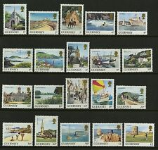 Guernsey 1984-85  Scott # 283-302  Mint Never Hinged Set