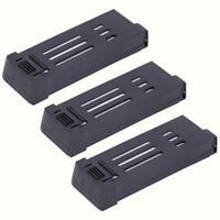 1/2 / 3pcs 850mAh 3.7V batteria ricaricabile Lipo per drone E58 S168 JY019 L800