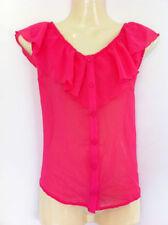 Career Sleeve Button Down Shirt Regular Size Tops for Women