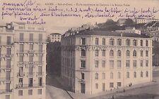ALGERIA - Alger - Bab-el-Oued - Ecole superieure de Garcons a la Rampe Valee
