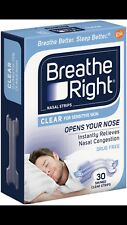 Breathe Right  Nasal Strips 30 Small/Medium + 2 BONUS STRIPS