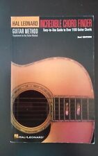 Hal Leonard Guitar Method Incredible Chord Finder 2nd Edition pb