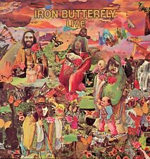 """IRON BUTTERFLY """"LIVE"""" ORIG GER 1970 M-/M-"""