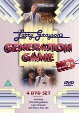 LARRY GRAYSON GENERATION GAME VOLUME 2 - 4 DVD SET 12 EPISODES +THIS IS YOUR LIF