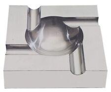 Contemporary Aluminum Full Metal 4 Cigar Ashtray
