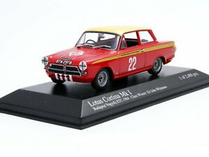 WOW EXTREMELY RARE Ford Lotus Cortina GT #22 Whitmore ETCC 1964 1:43 Minichamps