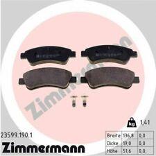 1x Bremsbelagsatz  Scheibenbremse ZIMMERMANN 23599.190.1