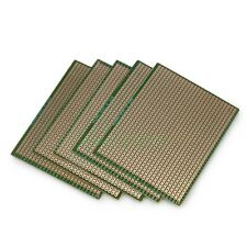 5pcs 70mm x 90mm DIY Prototype Strip Copper PCB Printed Circuit Board Stripboard