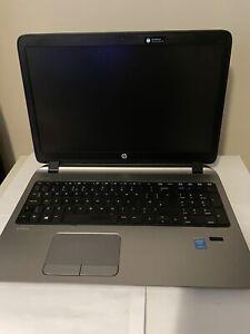 HP ProBook 450 G2 Laptop, Intel Core i3-4030U 4GB RAM, 120 SSD, Win10 pro