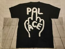 a443f220e351 Palace Middle finger T-shirt Black Short Sleeve Small