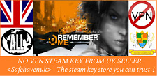 Remember Me Steam key NO VPN Region Free UK Seller