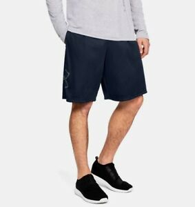"""2021 Under Armour Men's UA Tech Graphic Shorts 10"""" Casual Workout Fitness Shorts"""