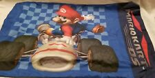 Mario Bros Mario Cart Ds Fitted Sheet Set 1 Pillowcase 1 Flat 1 Fitted