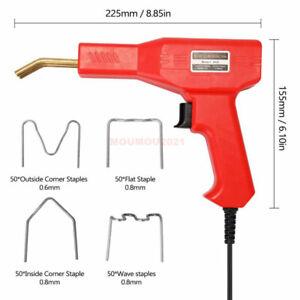 Professional Car Bumper Crack Repair Welding Machine Set Plastic Welder Staplers