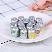 Dollhouse miniatura latas de bebida DIY casa de muñecas accesorios de cocinaK