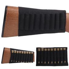Rifle Butt Stock 9 Bullet Cartridge Holder Buttstock Ammo .223 .243 .308 Caliber