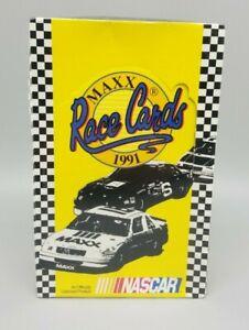 1991 MAXX Race Cards NASCAR Wax Pack Box - 36 Packs Factory Sealed EARNHARDT Sr