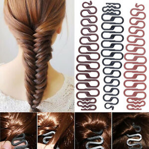 Women Fashion Durable Hairs Weave Artifact Fishbone Hair Braid Hair Styling Tool