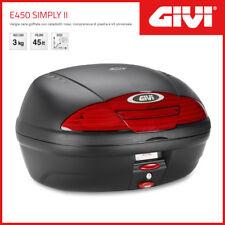 Valise / Coffre Givi Case E450 Simply II Universel - Noir/Cat.rossi