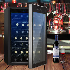 35 Bottles Thermoelectric Wine Cooler Fridge Refrigerator Chiller Cellar Metal