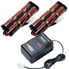 Overlander 2x 3300mah 7.2v NiMH Battery Pack & Fast Charger RC Car Tamiya