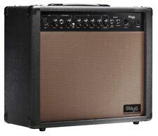 """Akustik-Verstärker ACOUSTIC Amp  Lautsprecher 10"""" 60W mit Federhall für Gitarre"""