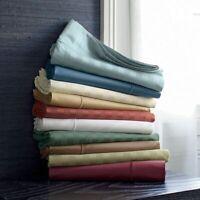 Unique 4 PCs Sheet Set 1000tc Egyptian Cotton Multi Colors King Size