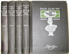 Works of EDGAR ALLAN POE!highly desirable RAVEN EDITION!gothic horror Rare! Gift